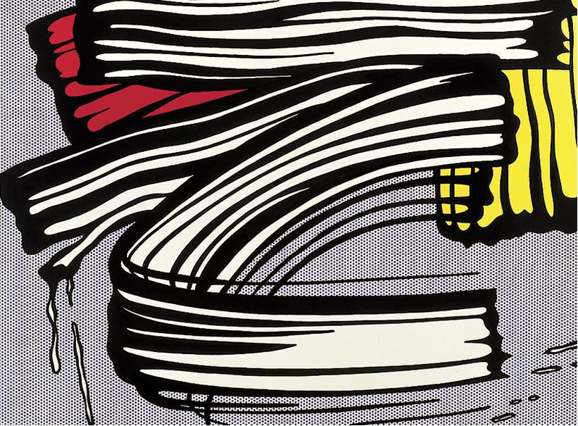 Roy Lichtenstein, Little Big Painting, 1965.
